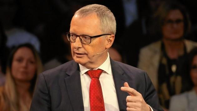 """Geschäftsführender Chefredakteur der """"Krone"""", Klaus Herrmann (Bild: Klemens Groh)"""