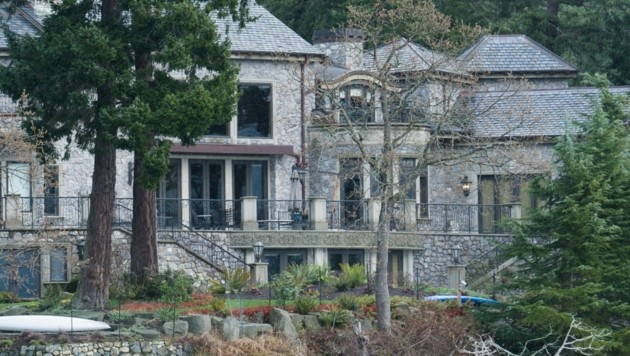 Die Villa Mille Fleurs auf Vancouver Island (Bild: AFP)