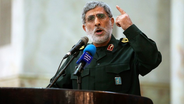 Der neue Kommandant der iranischen Al-Quds-Brigaden: Esmail Ghaani (Bild: AP)