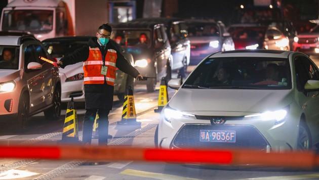 Ab dem 23. Jänner 2020 mussten die sechs Millionen Einwohner Wuhans 76 Tage lang in ihren Wohnungen bleiben. (Bild: Chinatopix via AP)
