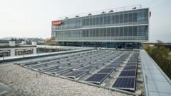 Auch am Standort Wels ist eine Photovoltaikanlage im Einsatz (Bild: Fronius International GmbH)