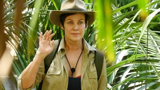 Sonja Kirchberger musste als dritte Kandidatin das Dschungelcamp verlassen. (Bild: TVNOW / Stefan Menne)