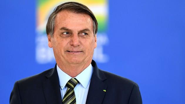 Präsident Jair Bolsonaro (Bild: AFP)