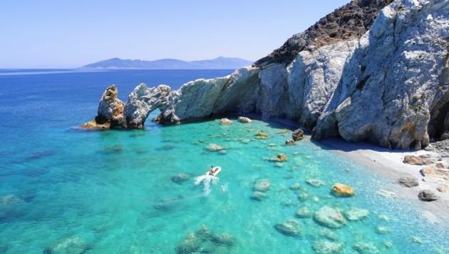 Der Lalaria-Strand in Skiathos (Archivbild) (Bild: ©Cara-Foto - stock.adobe.com)