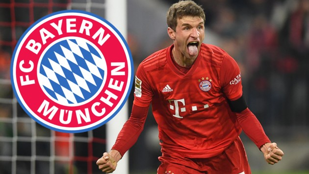 Für Thomas Müller und seinen FC Bayern wird's wohl nichts mit einer Superliga-Teilnahme ... (Bild: AFP)