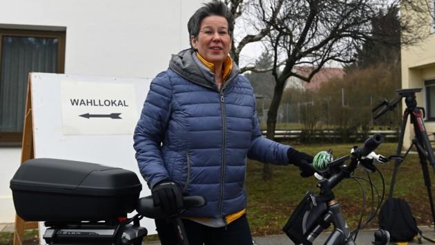 Grünen-Spitzenkandidatin Regina Petrik (Bild: APA/HERBERT P. OCZERET)