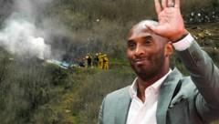 Kobe Bryant starb bei einem Helikopterabsturz. (Bild: AP, AFP, krone.at-Grafik)