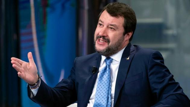 Matteo Salvini (Bild: AP)