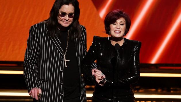 Ozzy Osbourne und Sharon Osbourne (Bild: APA/AFP)