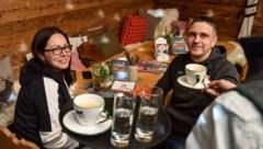 Ihr Frühstück genossen haben die Tiroler Bianca und Wolfgang Köll. (Bild: Wenzel Markus)