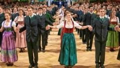 Beim Jägerball in der Hofburg wird zünftig eröffnet. (Bild: Starpix/ Alexander TUMA)