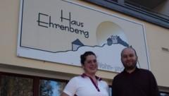 Katharina Storf und Stephan Mayr hoffen auf Kollegen aus Spanien (Bild: Daum Hubert)