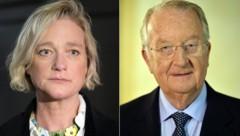Delphine Boel und Albert II. (Bild: AFP)