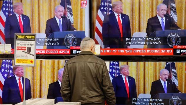 (Bild: APA/AFP/GIL COHEN-MAGEN)