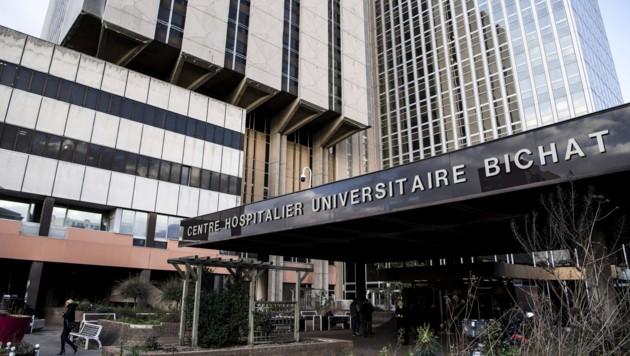Im Bichat-Krankenhaus in Paris werden am Coronavirus Erkrankte behandelt. (Bild: AFP)