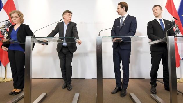 Laut der Regierung soll die ökosoziale Steuerreform vier Milliarden Euro Entlastung bringen. (Bild: APA/ROLAND SCHLAGER)