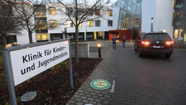 Die Klinik für Kinder- und Jugendmedizin in Ulm (Bild: AFP)