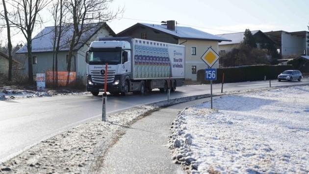 Das Grenzgebiet zwischen Salzburg und Oberösterreich wird vielfach befahren (Bild: Scharinger Daniel)