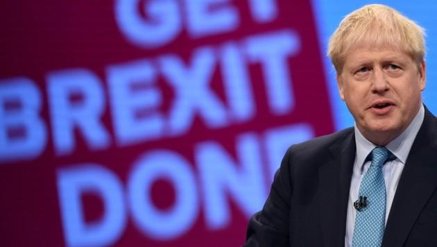 Der britische Premier, Boris Johnson hatte im Wahlkampf eine rasche Abwicklung des Austritts versprochen.