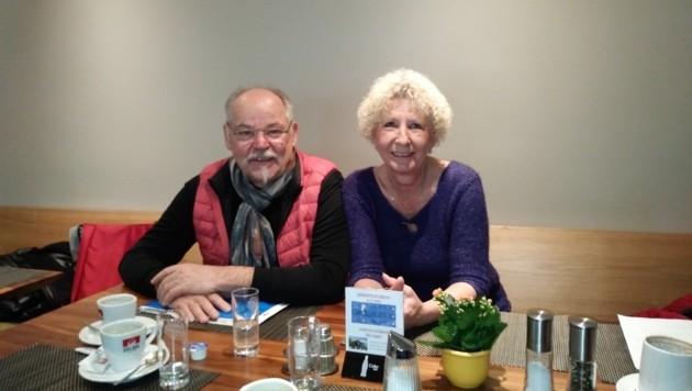 Gerhard Mimm und Angelika Sachers von der SPÖ Hall wollen, dass endlich gehandelt wird. (Bild: Manuel Schwaiger)