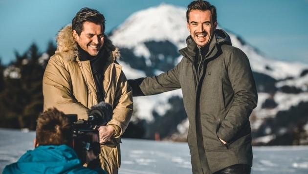 Thomas Anders (links) und Florian Silbereisen (Bild: Mathäus Gartner/Kitzbüheler Alpen – Brixental)