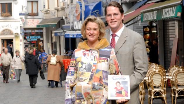 Delphine Boel mit Ehemann James O'Hare (Bild: /APAAP)