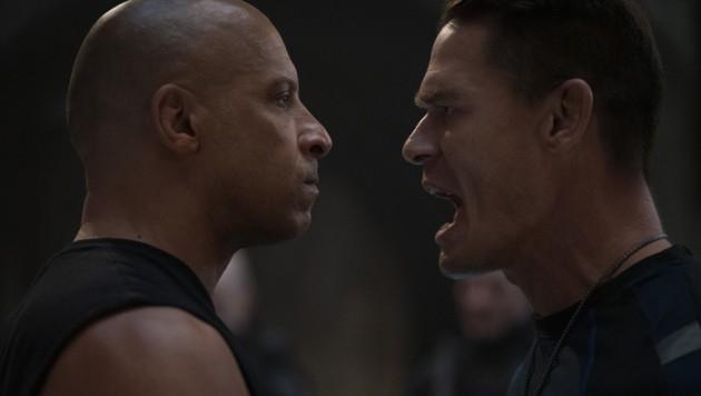 Dom (Vin Diesel) und sein kleiner Bruder Jakob (John Cena) (Bild: © 2020 UNIVERSAL STUDIOS)