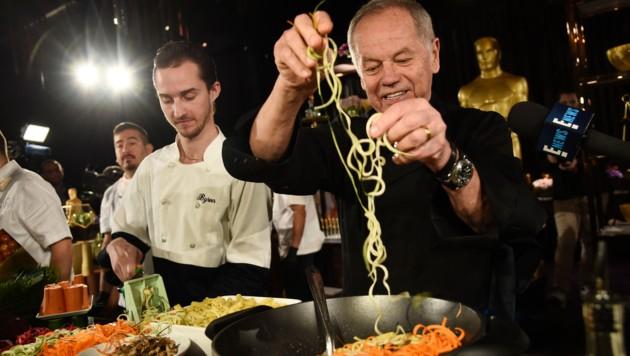 Chefkoch Puck serviert den Oscar-Stars 18 vegane Speisen (Bild: Chris Pizzello/Invision/AP)
