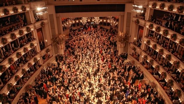 Der Wiener Opernball ist eines wichtigsten gesellschaftlichen Ereignisse Österreichs. (Bild: Karl Schöndorfer TOPPRESS)