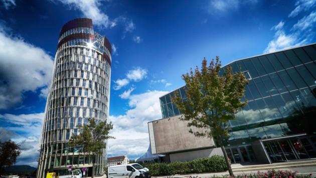 Der Science Tower in Graz (Bild: sepp pail)