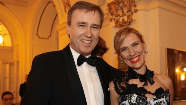 Christian Jauk und Kathrin Nachbaur (Bild: Juergen Radspieler)