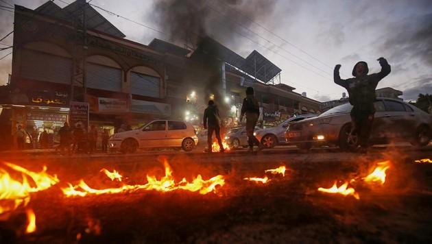 Unruhe im Gazastreifen (Bild: AFP)