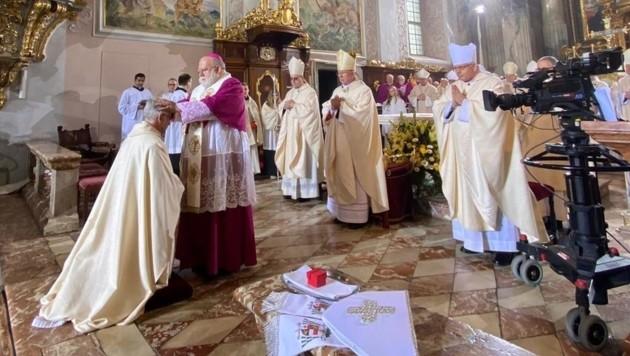 Josef Marketz ist der 66. Bischof der Diözese Gurk-Klagenfurt (Bild: Clara Milena Steiner)