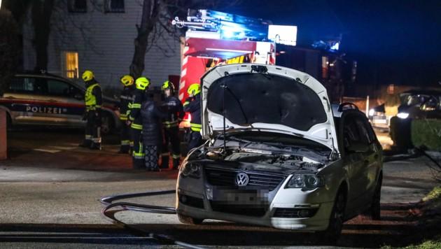 In Hargelsberg gab es nach Brandlegungen binnen weniger Tage vier Löscheinsätze (Bild: laumat.at/Matthias Lauber)