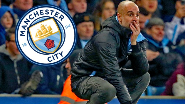 Manchester-City-Coach Pep Guardiola