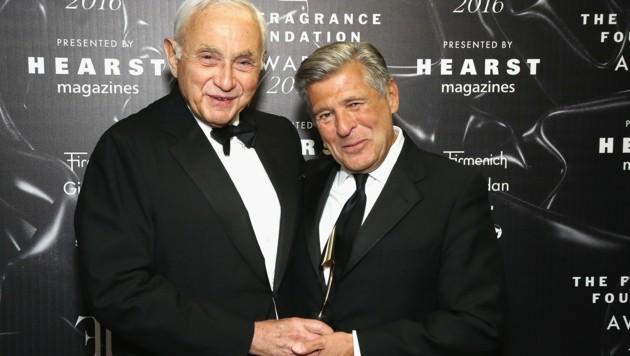 Les Wexner und Ed Razek (Bild: 2016 Getty Images)
