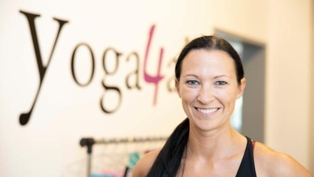 Daniela Metelko-Micheluzzi hat im Yoga ihre Berufung gefunden. (Bild: Maurice Shourot)