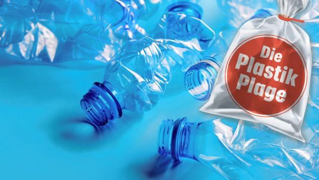 Derzeit werden nur 22 Prozent aller Getränke im Handel in Mehrwegflaschen verkauft. (Bild: stock.adobe.com, krone.at-Grafik)