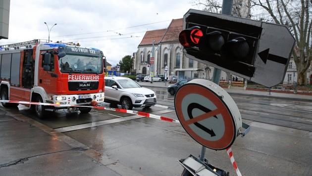 Sturmschaden in Wien (Bild: Peter Tomschi)