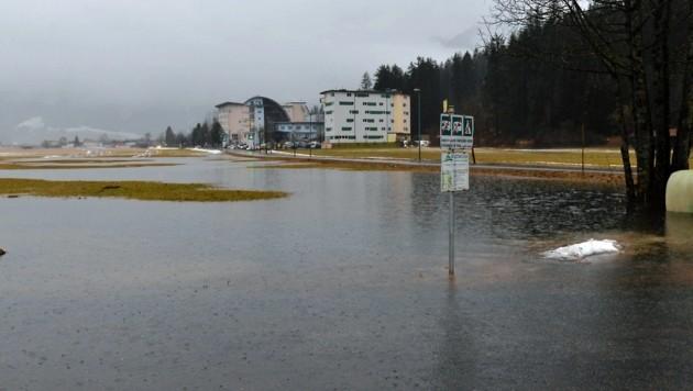 Überflutungen im Bezirk Reutte (Bild: Zoom.Tirol)