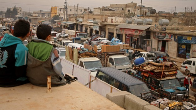 Fast 950.000 der drei Millionen Einwohner der Region sind nach UN-Angaben auf der Flucht. (Bild: AFP)