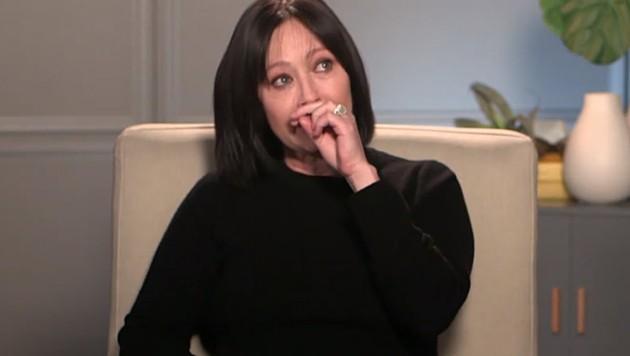 """In einem emotionalen Interview mit """"Good Morning America"""" verriet Shannen Doherty, dass sie erneut an Krebs erkrankt ist. (Bild: Screenshot Good Morning America)"""