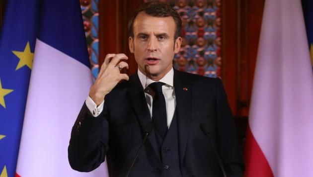Emmanuel Macron (Bild: AFP)