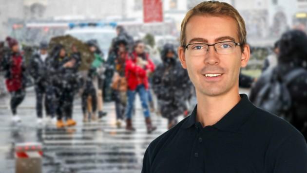 Meteorologe Steffen Dietz (Bild: Markus Tschepp, Ubimet)