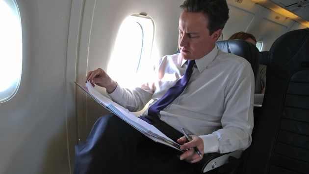 Der ehemalige britische Premierminister David Cameron (Bild: AFP)