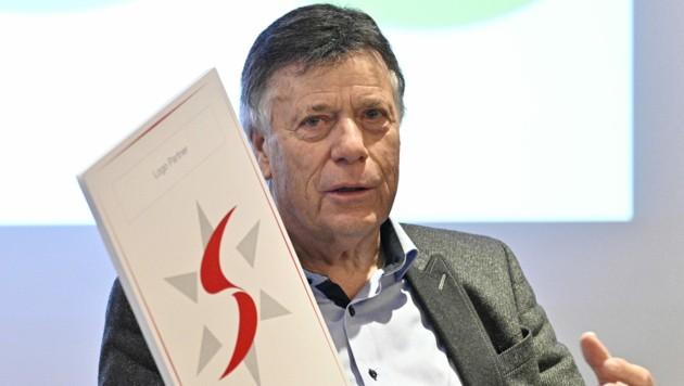 ÖSV-Präsident Peter Schröcksnadel (Bild: APA/HANS PUNZ)