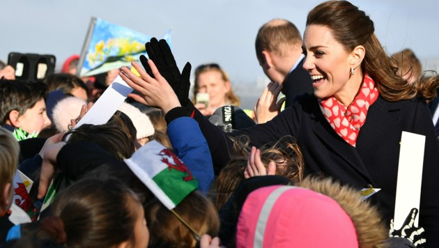 Herzogin Kate (Bild: AFP)
