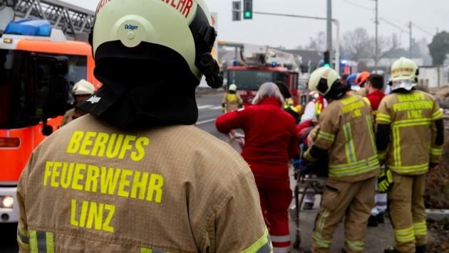 Die Feuerpolizei ist als Teil der Berufsfeuerwehr unter anderem für den Gebäude-Brandschutz verantwortlich. (Bild: Kerschbaummayr Werner)