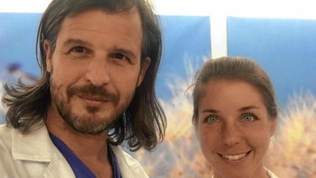 Johannes Strutzmann und Karin Valeskini bauen am LKH Leoben einen neuen Chirurgie-Schwerpunkt auf. (Bild: zVg.)