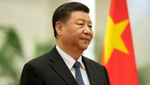 Chinas Präsident Xi Jinping (Bild: AP)